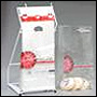Picture of item 300-100 a Bakery Bag.  8 lb Capacity.  Clear Polypropylene.