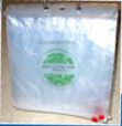 Picture of item 320-205 a Lettuce bag. 12 X 9 x 4. Poly Pro. Non vented bag.