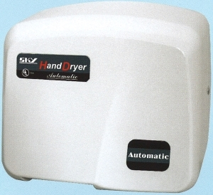 Picture of item 595-701 a SKY1800PA AUTOMATIC HAND DRYER.