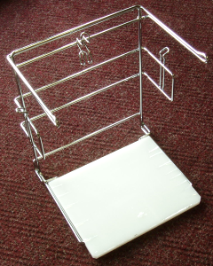 Picture of item 705-198 a Dispenser Rack for T-Shirt Bags.