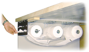 Picture of item 705-293 a RACK FOR ROLLMATE BAGS ON ROLL.