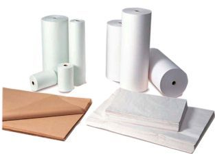 "Picture of item 739-101 a Tissue Paper.  #1.  18"" x 24"".  White Color.  2 Reams/Package."