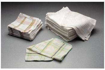 "Picture of item 971-235 a Bar Mop Towels.  100% Cotton Cleaning Cloths.  16"" x 19""."