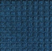Picture of item 550-204 a Waterhog™ Classic Indoor/Outdoor Scraper/Wiper Mat.  3 Feet x 5 Feet.  Medium Blue Color.