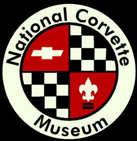 Picture of item 972-751 a Logo Mat.  4 Feet x 6 Feet.  National Corvette Museum Logo.