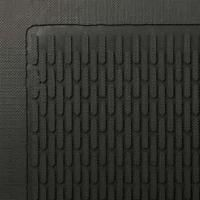 Picture of item 973-322 a Superscrape™ Outdoor Scraper Mat.  4 Feet x 6 Feet.  Black Color.