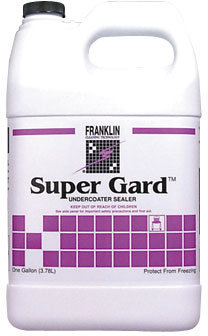 Picture of item 681-201 a Super Gard™ Undercoater Sealer.  Waterbased, non-yellowing acrylic sealer.  16% Solids.  1 Gallon.