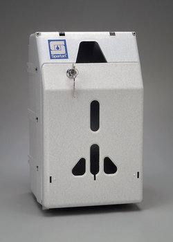 Picture of item 973-554 a Gallon Locking Cabinet.  Holds one 1 Gallon Container.