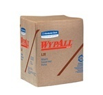 "Picture of item 351-099 a WYPALL* L20 Wipers.  1/4 Fold.  12.5"" x 13"" Wiper.  Brown Color.  68 Wipers/Package."
