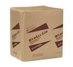 "Picture of item 351-103 a WYPALL* L20 Wipers.  1/4 Fold.  12.5"" x 14.4"" Wiper.  Brown Color.  68 Wipers/Package."
