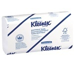 Picture of item 869-305 a KLEENEX® SCOTTFOLD* Towels. 9.4 X 12.4 in. White. 3000 count.