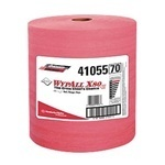 "Picture of item 874-200 a WYPALL* X80 Towels.  Jumbo Roll.  12.5"" x 13.4"" Wiper.  Red Color."