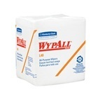 "Picture of item 874-302 a WYPALL* L40 Wipers.  1/4 Fold.  12.5"" x 13"".  White Color.  56 Wipers/Poly Package."