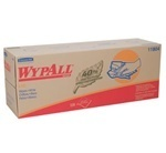 "Picture of item 874-412 a WYPALL* L40 Recycled Wipers.  16.4"" x 9.8"".  White Color.  Pop-Up Box Dispenser."