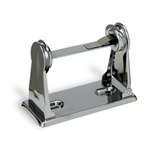 "Picture of item 888-099 a Classic Roll Tissue Holder.  Chrome Finish.  2-3/4"" x 6"" x 4-1/4"".  1 Roll Capacity."