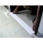 "Picture of item 970-398 a Stripper Stop.  4-1/2"" x 36"".  Prevents chemicals and liquids from running through doorways."
