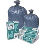 "Picture of item 971-624 a Can Liner.  40"" x 46"".  40 - 45 Gallon.  Gray."