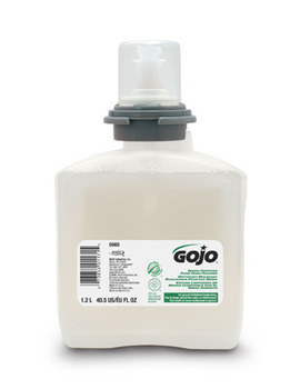 Picture of item 968-635 a GOJO® Green Certified Foam Hand Cleaner.  FOMA 1200 mL Refill.