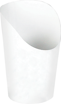 Picture of item 969-264 a SCOOP CUP 5.5 OZ WHITE.