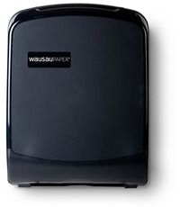 Picture of item 888-507 a Silhouette® Universal-Use Folded Towel Dispenser.  12-1/4 X 16-3/4 X 5 in. Translucent Black.