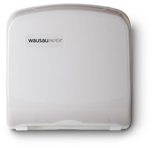 Picture of item 971-616 a Silhouette® Compact Folded Towel Dispenser. 12 3/8 X 13 X 4 7/8 in. Translucent White.