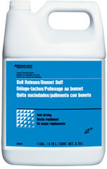 Picture of item 972-894 a Johnson Diversey Soil Release Bonnet Buff Concentrate. 1 gallon, 4/cs.