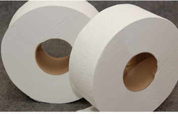 "Picture of item 887-906 a Response Jumbo Jr Toilet Tissue. 2 ply. 3.5"" x 1000'. 9"" Diameter. 12 rolls/cs."