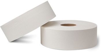 "Picture of item 887-611 a EcoSoft™ Universal-Use Jumbo Bath Tissue.  3-7/8"" x 4,000 Feet.  1-Ply.  White Color."