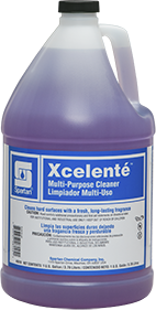 Picture of item SPT-001904 a Xcelente™ Multi-Purpose, Hard Surface Cleaner.  1 Gallon.