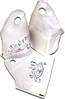 Picture of item 969-883 a CARRYOUT BAG WHITE 34 X18.5'X12. PAK-SHER.