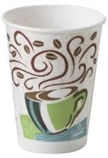 Picture of item 103-090 a Dixie® PerfecTouch® Paper Hot Cups,  Paper, 8oz, Coffee Dreams Design, 1000/Carton