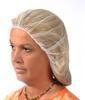 "Picture of item 595-206 a Hair Net.  Heavyweight Polyester Mesh.  24"".  White Color."