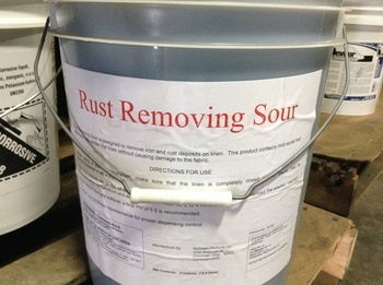 Picture of item 620-508 a LAUNDRY RUST REMOVER SOUR 5GAL.